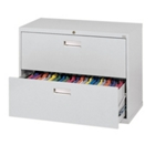 """36""""W 2 Drawer Steel Lateral File, 30078"""