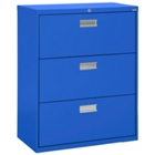"""36""""W 3 Drawer Steel Lateral File, 30079"""
