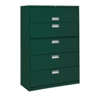 """36""""W 5 Drawer Steel Lateral File, 30081"""