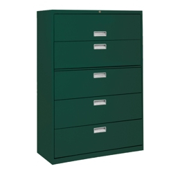 "36""W 5 Drawer Steel Lateral File, 30081"