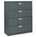 "42""W 4 Drawer Steel Lateral File, 30083"