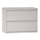 """30""""W 2 Drawer Steel Lateral File, 30085"""