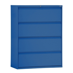 """30""""W 4 Drawer Steel Lateral File, 30086"""