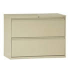 """36""""W 2 Drawer Steel Lateral File, 30087"""