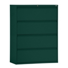 """36""""W 4 Drawer Steel Lateral File, 30088"""