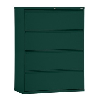 "36""W 4 Drawer Steel Lateral File, 30088"
