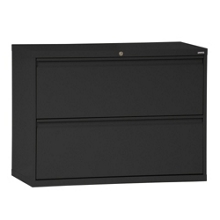 "42""W 2 Drawer Steel Lateral File, 30089"
