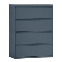 "42""W 4 Drawer Steel Lateral File, 30090"
