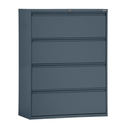 """42""""W 4 Drawer Steel Lateral File, 30090"""