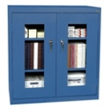 "Storage Cabinet with ClearView Doors - 36""W x 18""D, 31146"