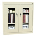 "Storage Cabinet with ClearView Doors - 36""W x 24""D, 31147"