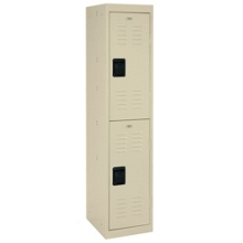 "Double Tier Steel Locker - 15""W, 31903"
