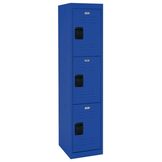 "Triple Tier Steel Locker - 15""W, 31904"
