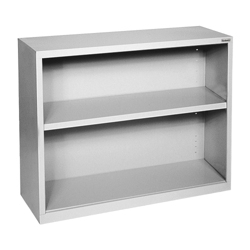 "30""H 2 Shelf Steel Bookcase, 32039"