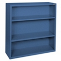 "42""H 3 Shelf Steel Bookcase, 32040"