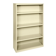 "52""H 4 Shelf Steel Bookcase, 32041"