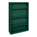 "60""H 4 Shelf Steel Bookcase, 32042"