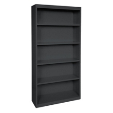 "72""H 5 Shelf Steel Bookcase, 32043"