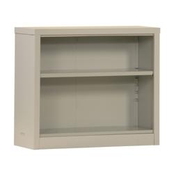 "30""H 2 Shelf Unassembled Steel Bookcase, 32045"