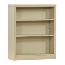 "42""H 3 Shelf Unassembled Steel Bookcase, 32046"