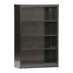 "52""H 4 Shelf Unassembled Steel Bookcase, 32047"