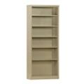 "84""H 6 Shelf Unassembled Steel Bookcase, 32049"