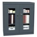 "3 Shelf Steel Storage Cabinet with ClearView Doors - 46""W x 24""D, 36216"
