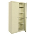 "5 Shelf Steel Storage Cabinet - 46""W x 72""H, 36221"