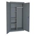 "Steel Combination Storage Cabinet - 46""W x 72""H, 36224"