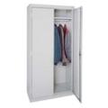 """Steel Wardrobe Storage Cabinet - 36""""W x 72""""H, 36226"""