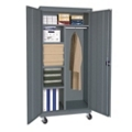 "Steel Mobile Combination Cabinet - 46""W x 72""H, 36231"