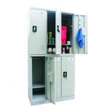 "36""W x 72""H Unassembled Steel 6 Locker Unit, 36246"