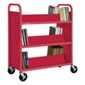 Slanted Six Shelf Book Truck, 36513