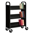 Slanted Three Shelf Book Truck, 36514