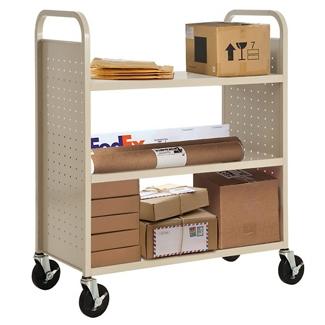 Three Flat Shelf Book and Utility Truck, 36515
