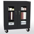 "Mobile Cabinet with ClearView Doors - 36""W x 18""D, 36561"