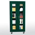 """Five Shelf Mobile Cabinet with ClearView Doors - 36""""W x 24""""D, 36564"""