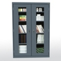 "Five Shelf Cabinet with ClearView Doors - 46""W x 24""D, 36567"