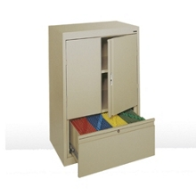 """Counter Height Storage Cabinet with File Drawer -  30""""W , 36580"""