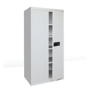 """Storage Cabinet with Keyless Electronic Lock - 78""""H x 18""""D , 36581"""