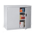 "Wood Top Counter Height Storage Cabinet - 18""D, 36583"