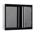 "Two Shelf Lockable Wall Cabinet - 30""W x 12""D x 26""H, 36611"