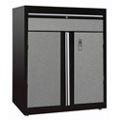 "Two Door Lockable Cabinet with Shelf - 30""W x 18""D x 36""H, 36612"