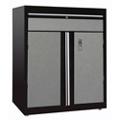 "Two Door Lockable Cabinet with Shelf - 30""W x 18""D x 36""H, 36612"