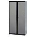 """Jumbo Two Door Lockable Storage Cabinet - 46""""W x 24""""D x 72""""H, 36615"""