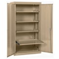 """Adjustable Pull Out Tray Storage Cabinet - 36""""W x 24""""D x 66""""H, 36618"""
