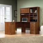 Shaker Cherry L Shaped Desk with Hutch, CD07718