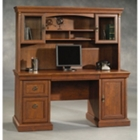 Computer Credenza with Hutch, CD03618