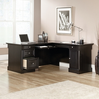 "Computer L-Desk with Right Return - 65""W x 68""D, 14023"