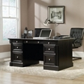"Double Pedestal Desk - 65""W x 29""D, 14024"